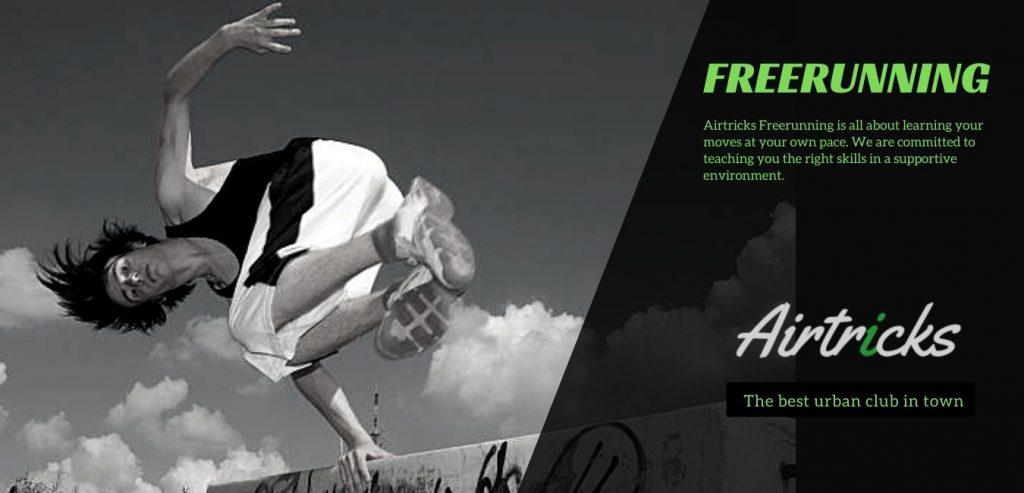 Freerunning Tricking en Parkour in Eindhoven